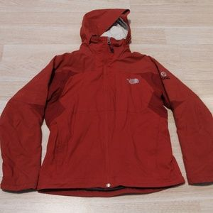 VTG The North Face Women's Jacket Size Medium Red